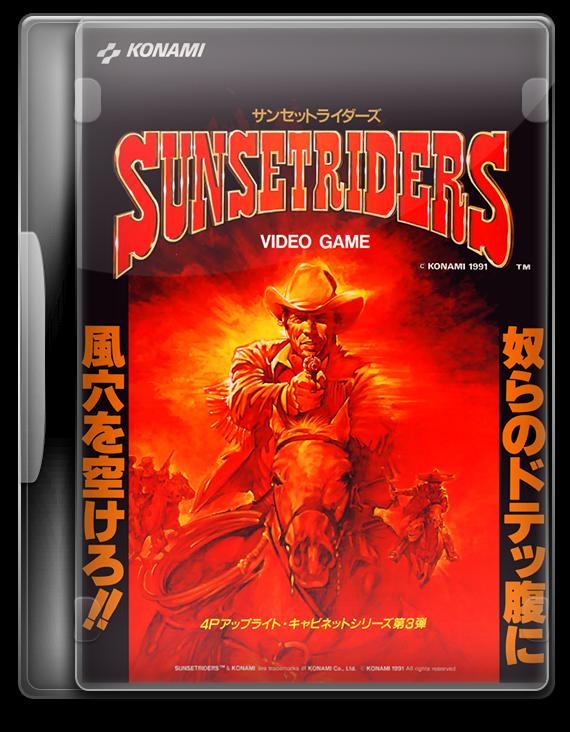 Sunset Riders Arcade