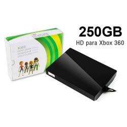 HD para XBox 360 Slim 250GB