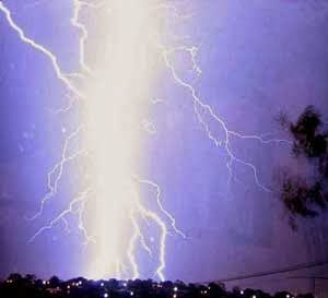 Rocket lightning