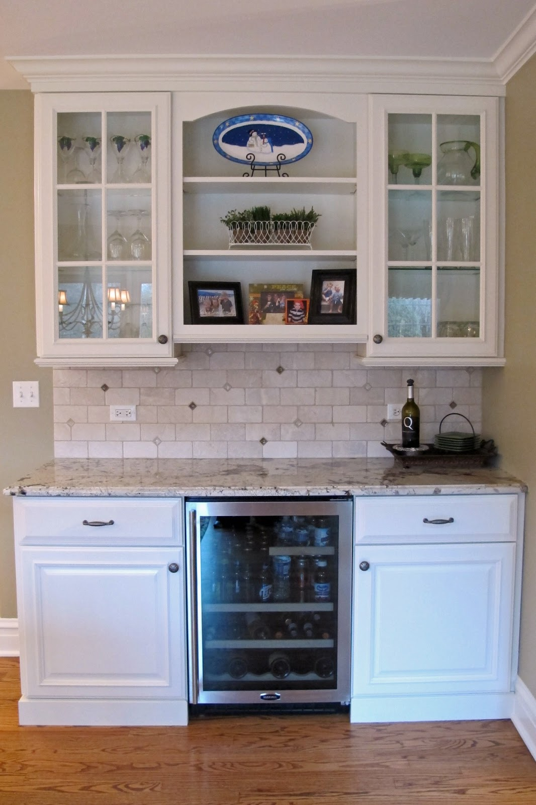 Just grand gorgeous classic kitchen renovation for Area above kitchen cabinets called