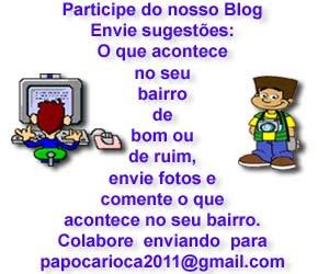 Participe do Papo Carioca