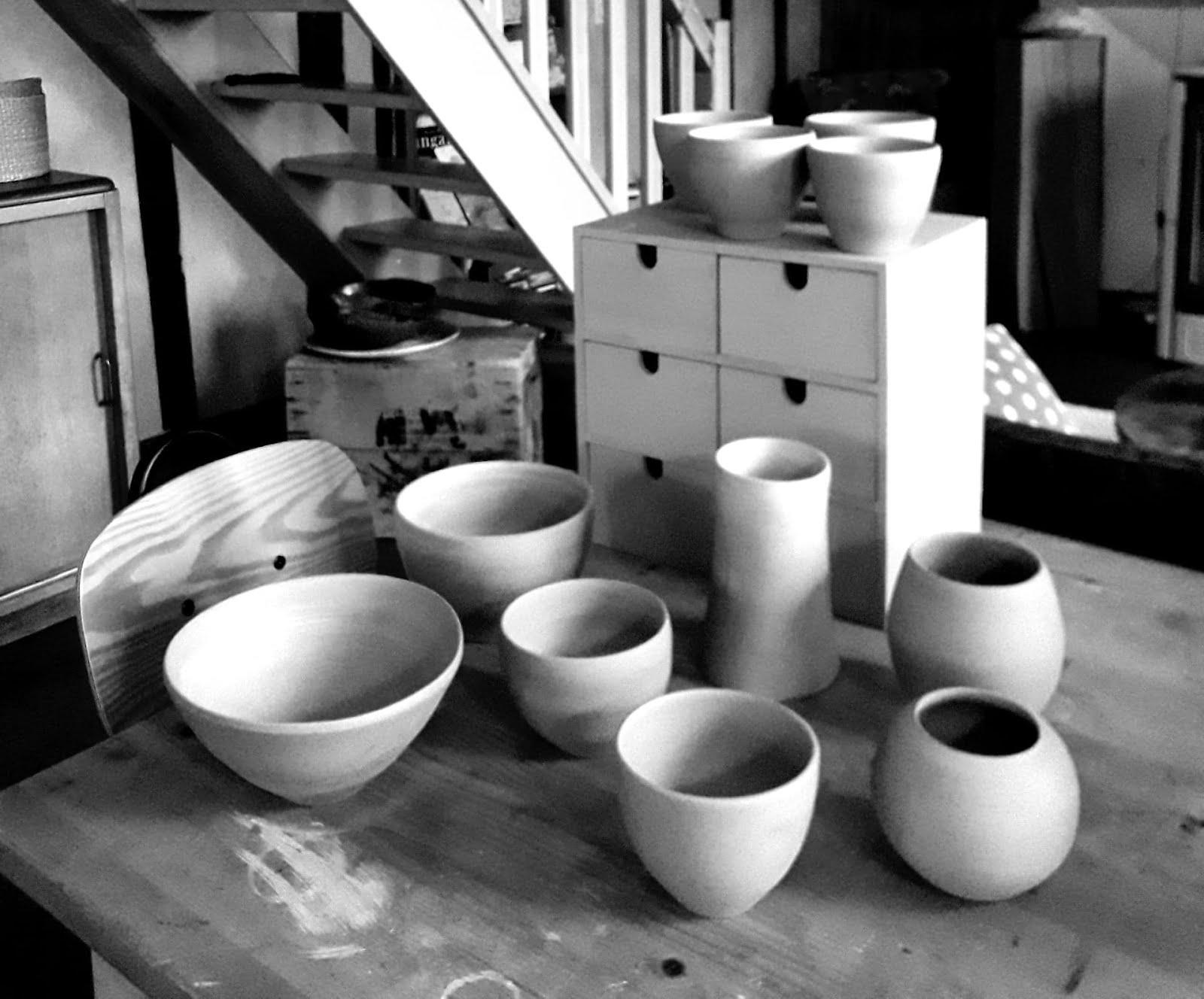 Atelier adultes poterie, venez créer vos bols à l'atelier !