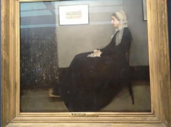 Musée d'Orsay, James Abbott McNeill Whistler, Composición en gris y negro nº1 (La madre del artista)