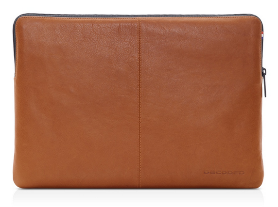 Decoded Leather Slim Sleeve Macbook air