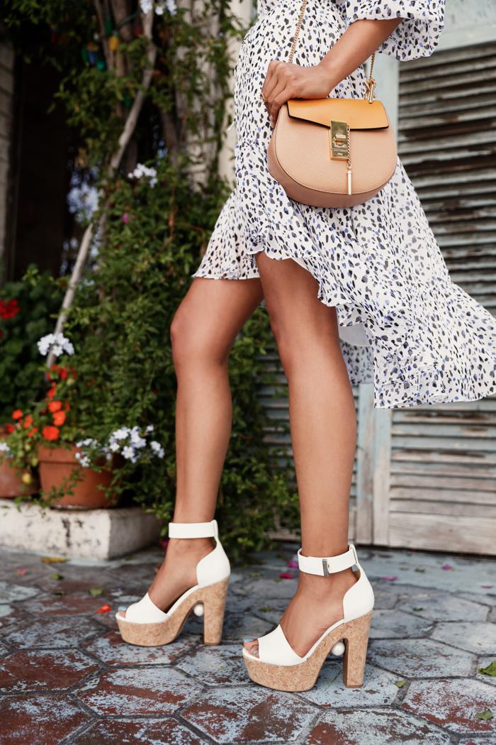 NICHOLAS KIRKWOOD embellished leather & cork platform sandals