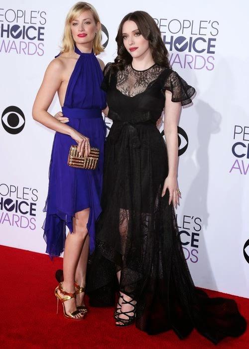 Kat & Beth: '2 Broke Girls' on the red carpet