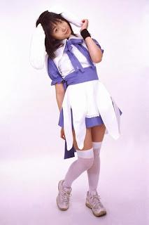 Matsunaga Ayaka Cosplay as Misora Tsubasa from Majiresu Omatase Little Wing