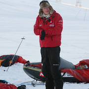 Harry Takes Elizabeth Arden to South Pole