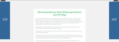 Como Instalar Banner Publicidade lado direito esquerdo Blogger