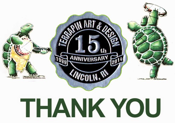 Terrapin Art & Design Celebrating 15 Years in Business