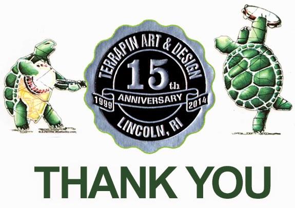Terrapin Art & Design Celebrating 15 Years in Business
