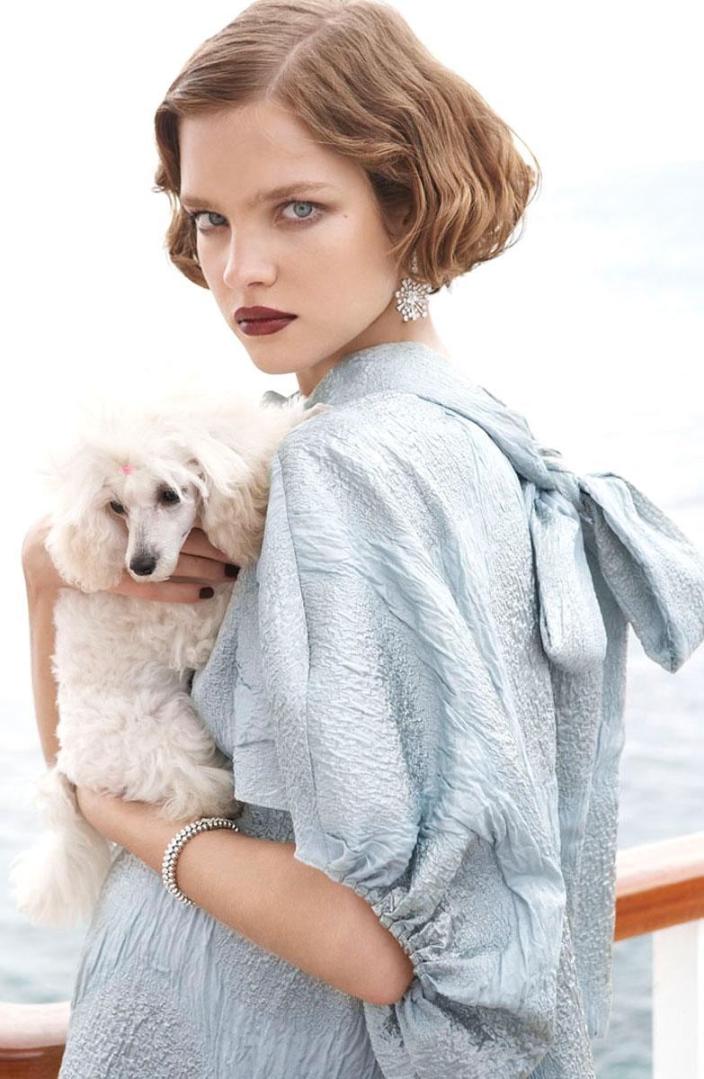 Natalia Vodianova in Vogue US July 2007 (photography: Mario Testino, styling: Tonne Goodman)