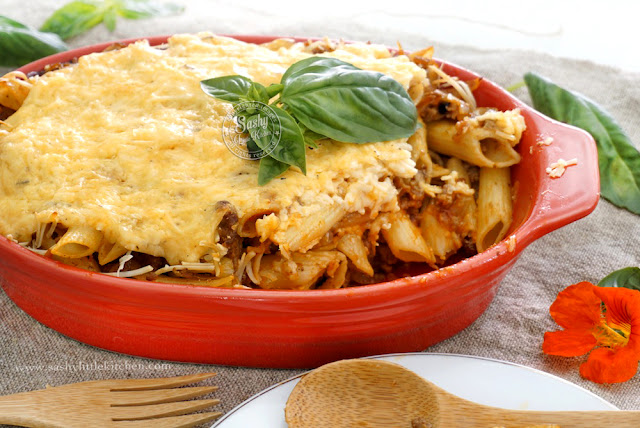 Creamy Baked Penne
