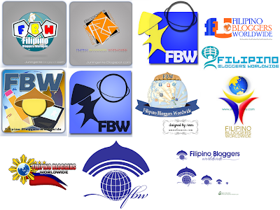 FBW logo contest entries