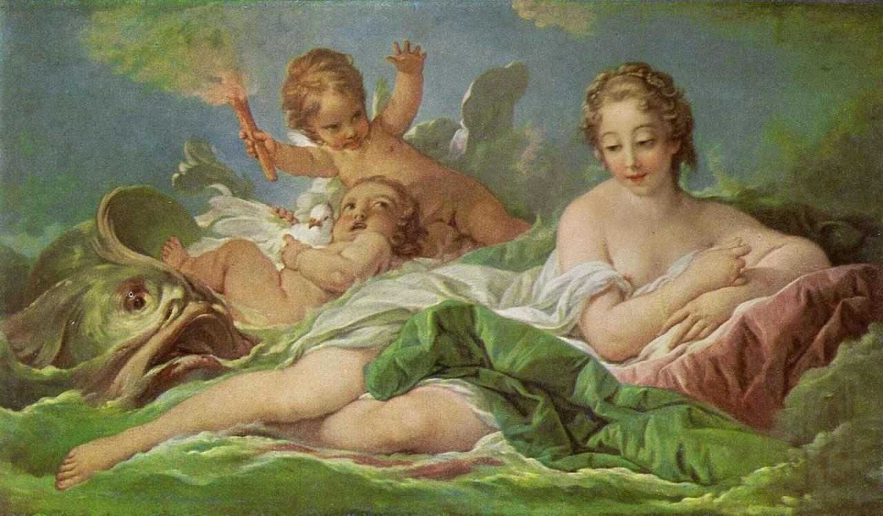 François Boucher, La Naissance de Vénus (1754)