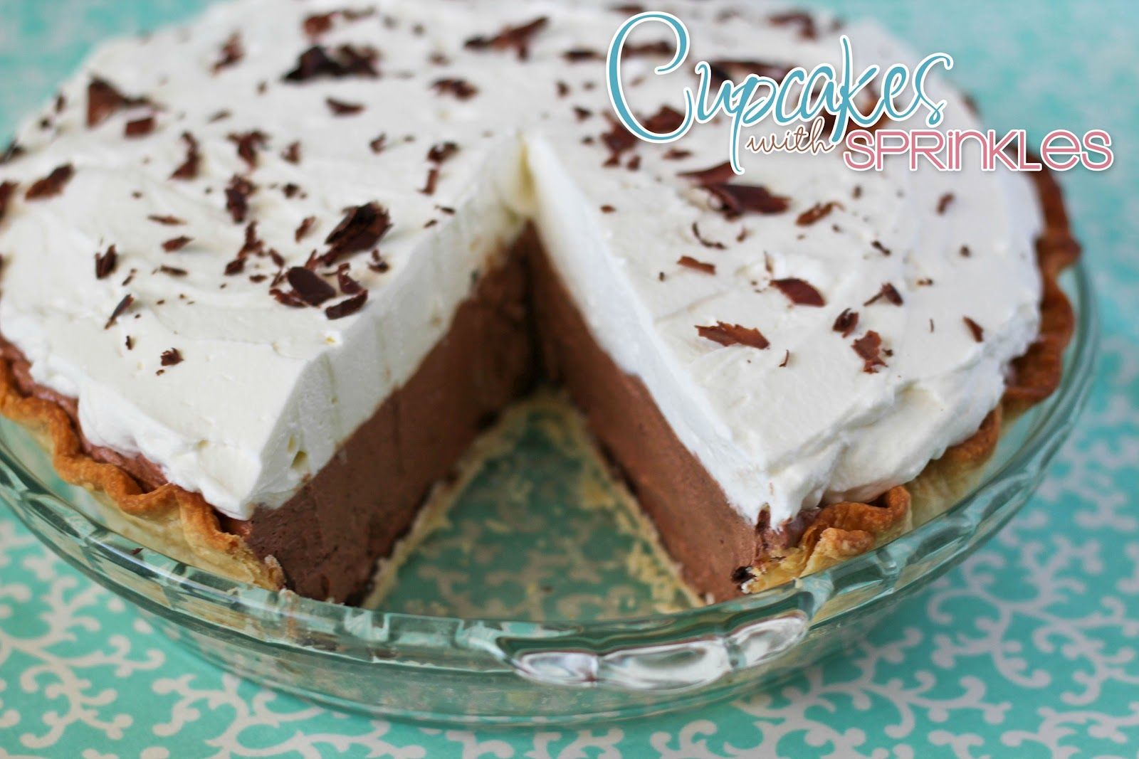 Cupcakes with Sprinkles: Chocolate Mousse Pie