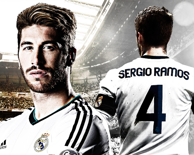 New Sergio Ramos wallpaper HD Real madrid 2013 - 2014