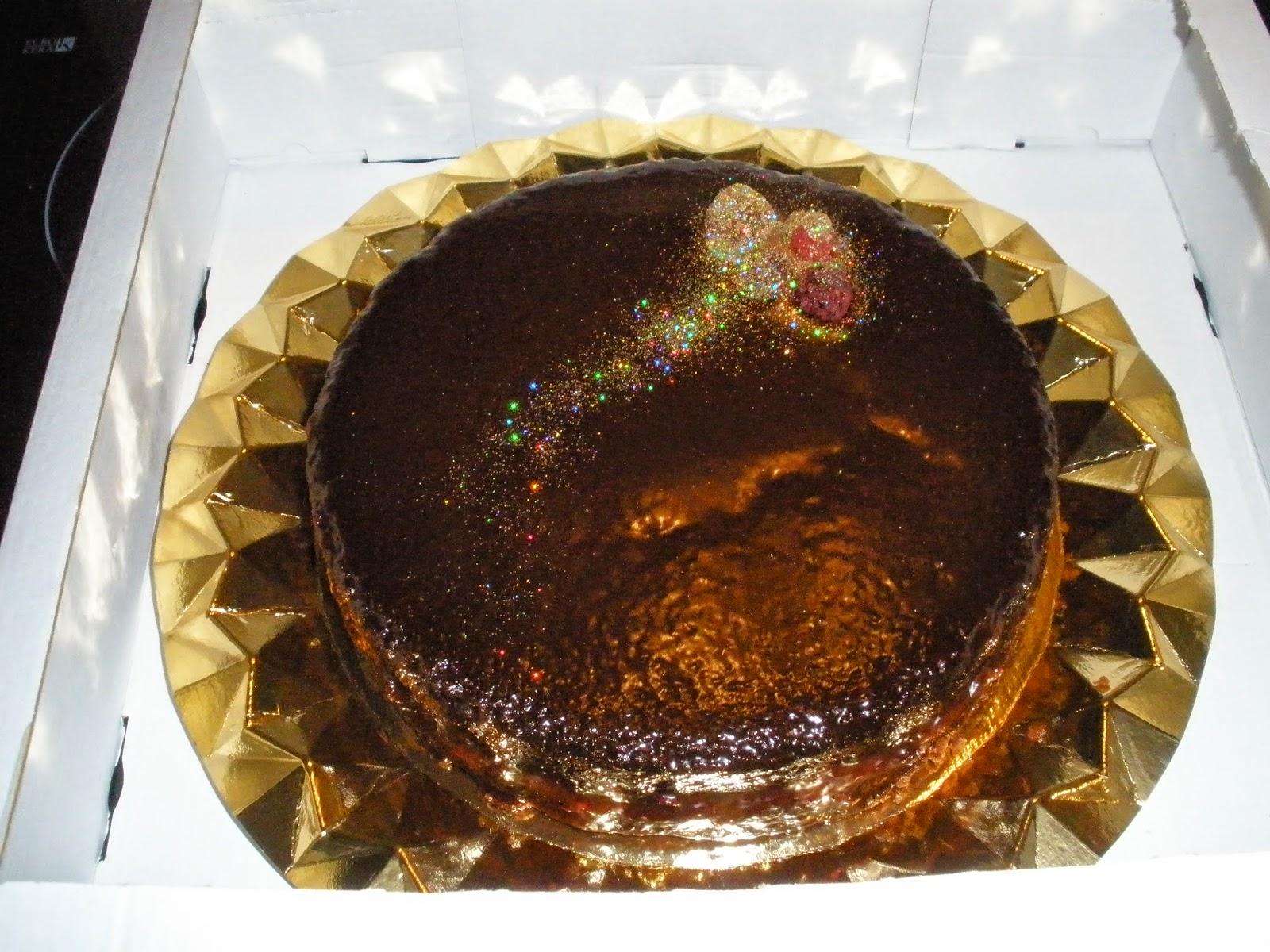 Bizcocho De Chocolate Episodio Ii: Tarta De Chocolate Y Frambuesa