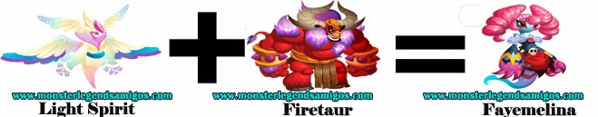 como obtener el monstruo fayemelina en monster legends formula 1