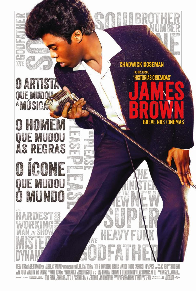 "Poster do filme ""James Brown"""