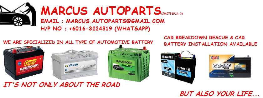 Car Battery Replacement Services 016-3224319