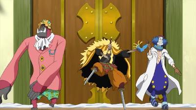 Scarlet, Shiki, Dr. Indigo Strong World