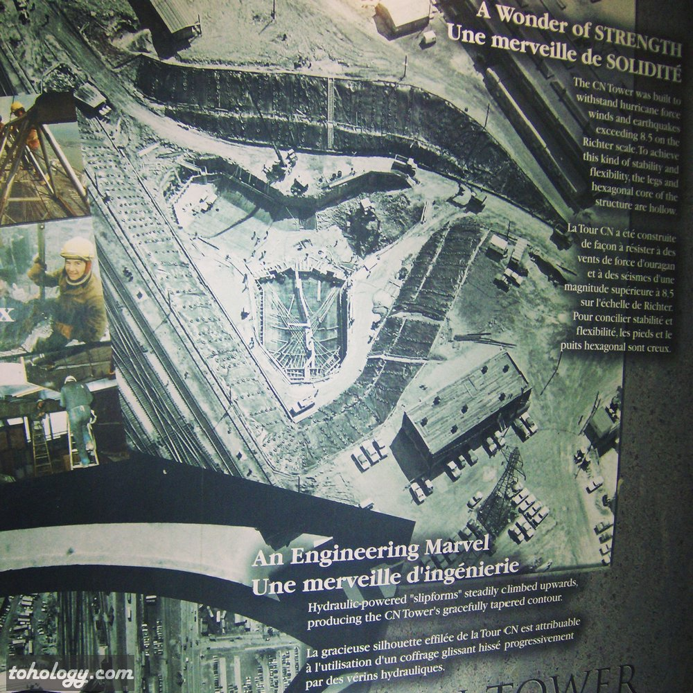 CN Tower (La Tour CN) Picture from a poster