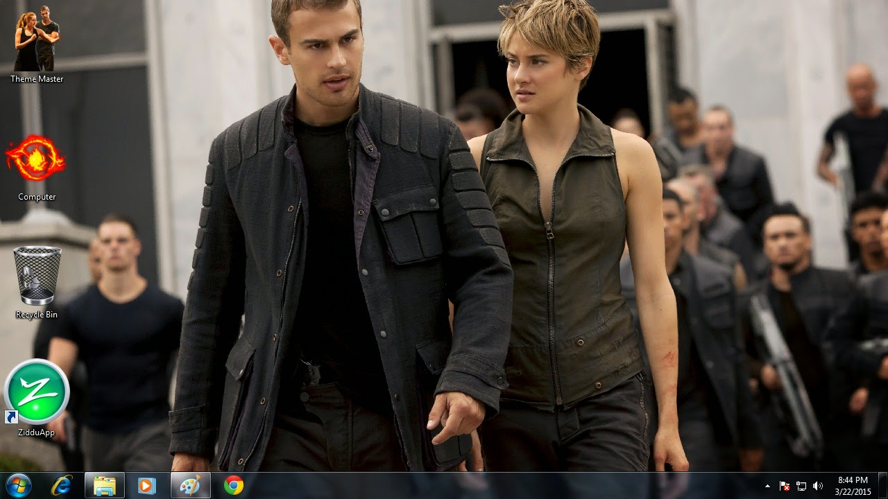 How to use Divergent Insurgent theme on my Ultrabook