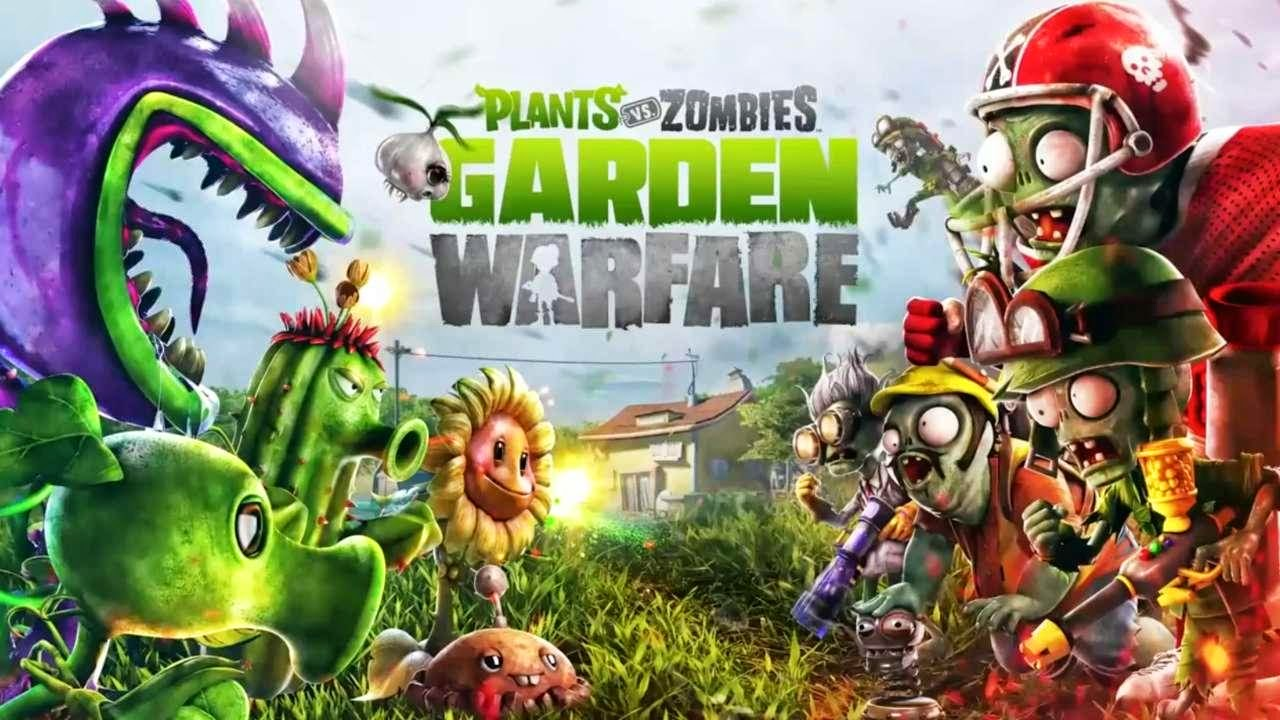 vs at gamescom garden gaming plants warfare one zombies