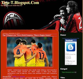 Template AC Milan