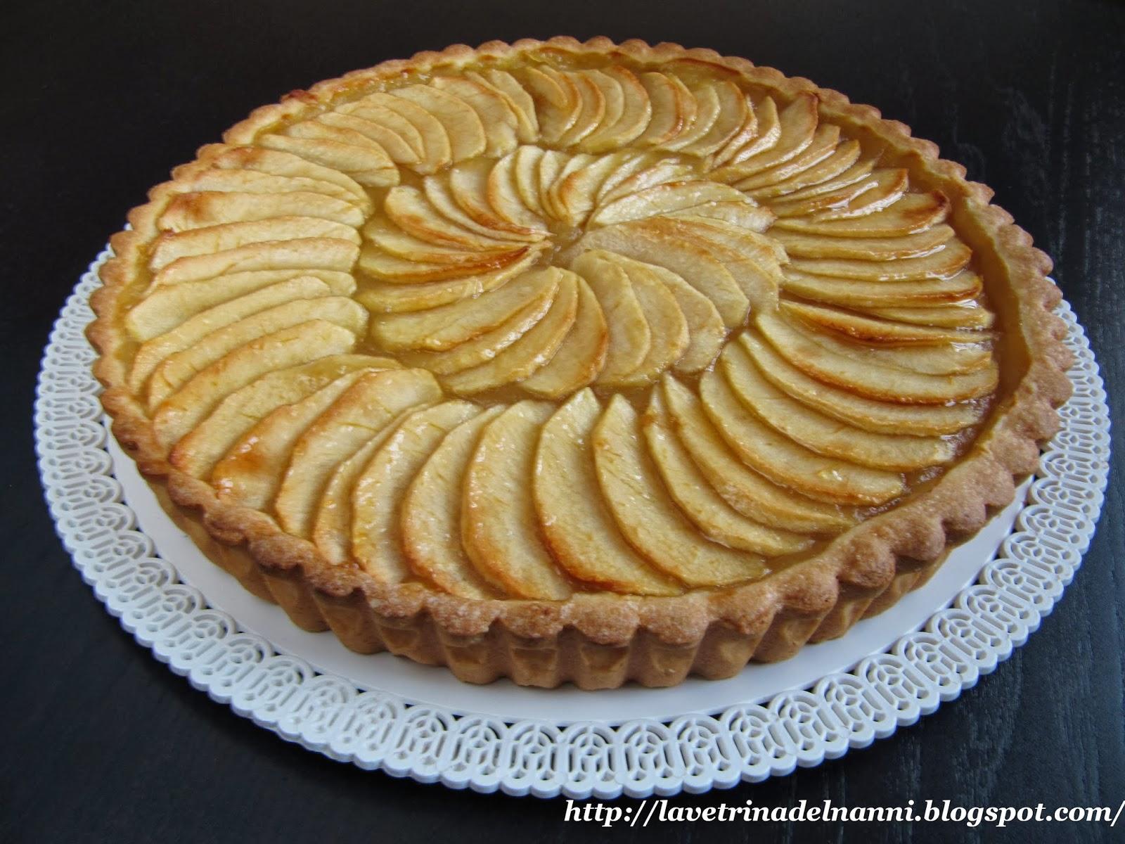 La vetrina del nanni crostata di mele for Crostata di mele