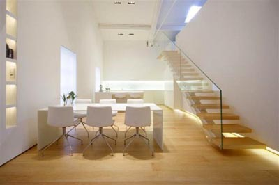 Design Color Wallpaper: Modern Duplex Apartment Interior Design ...