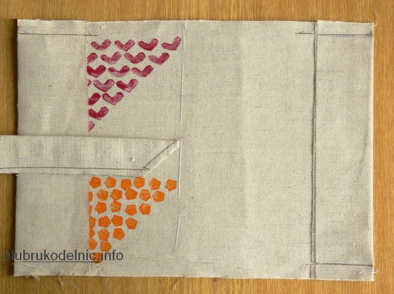 Обложка из ткани