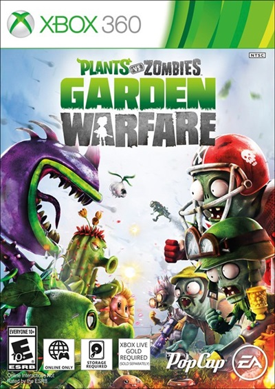 Plants vs Zombies Garden Warfare Xbox 360 Español Region Free