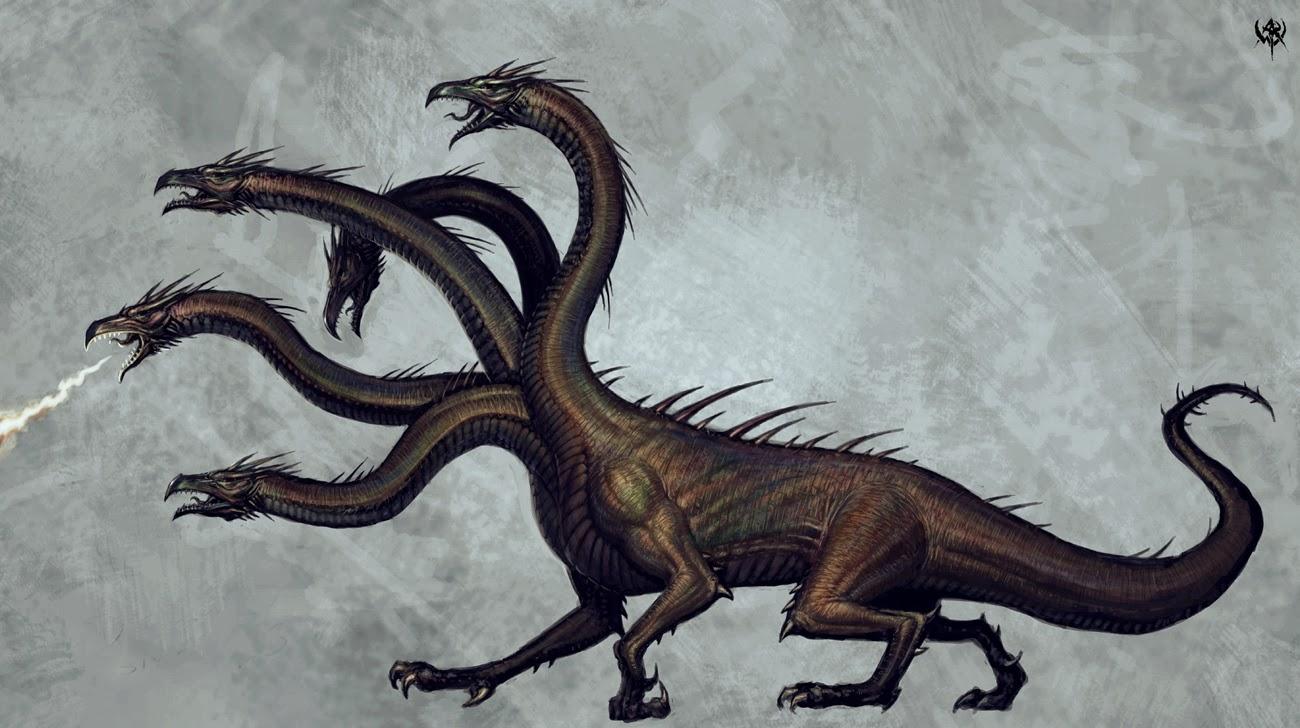 MITOLOGÍA PARA NIÑOS: La hidra de Lerna o el monstruo de las mil ...