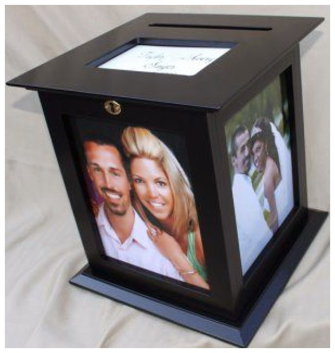 love this locked photo box. The fact that you need a key to get ...