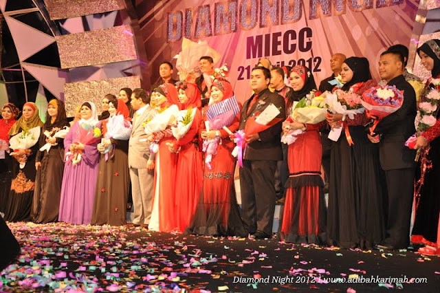 Diamond Night Dinner Award at MIECC for premium beautiful top agents with all dsm agents