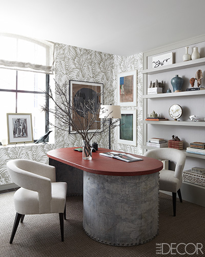 elle decor beautiful home office