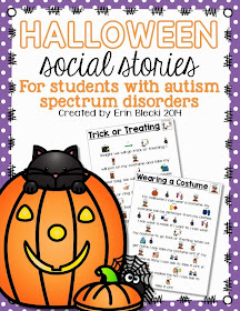 http://www.teacherspayteachers.com/Product/Halloween-Social-Stories-1526136