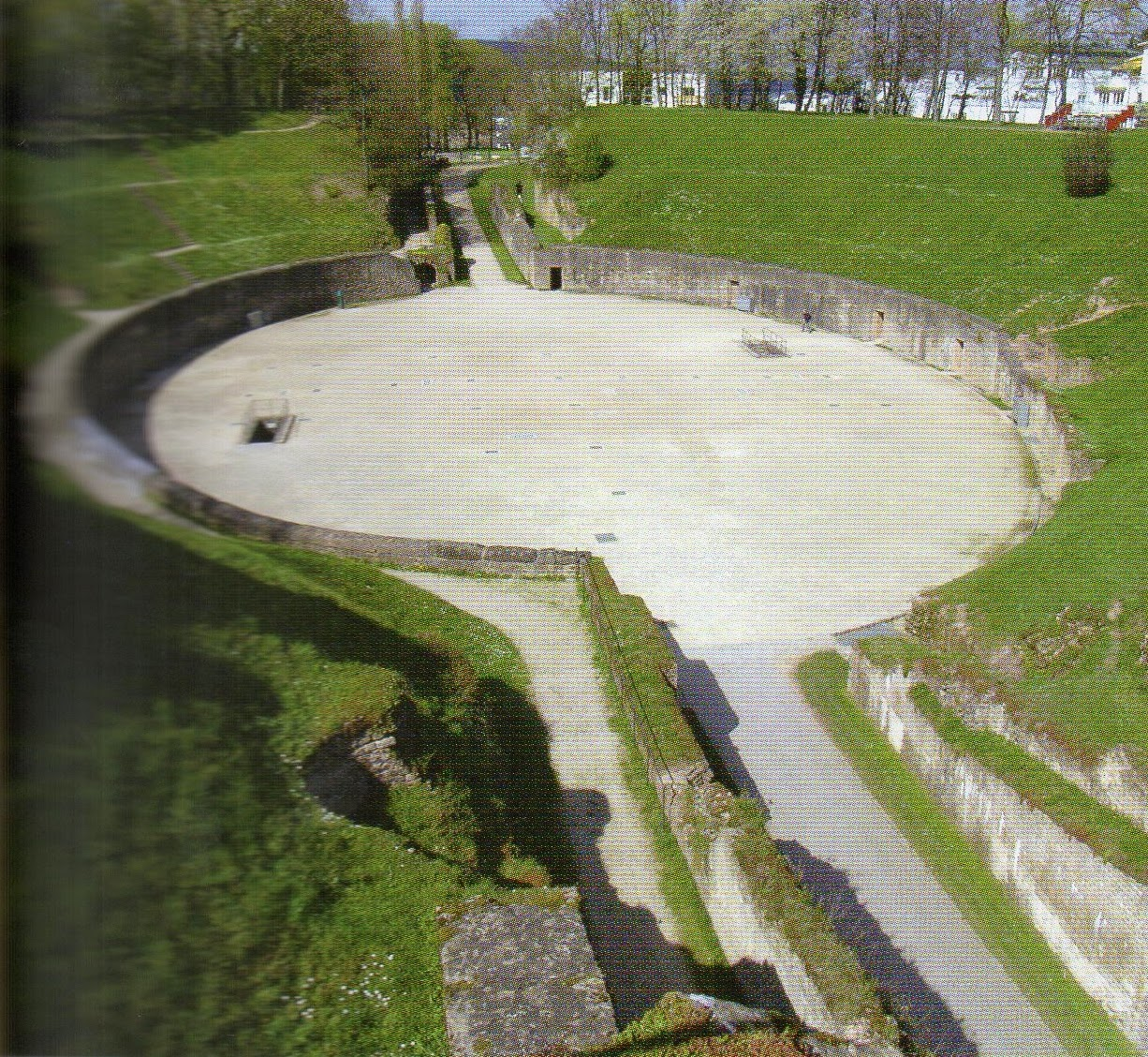 Anfiteatro em Trier, Alemanha