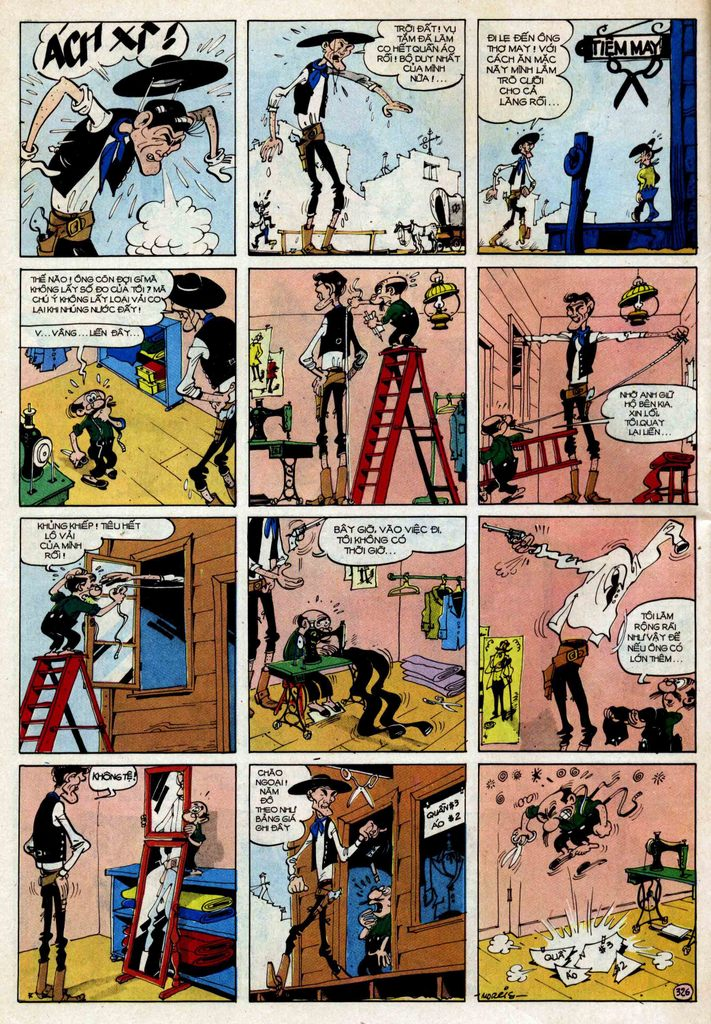 TruyenHay.Com - Ảnh 26 - Lucky Luke Tập 25 - Nhện Chân Dài
