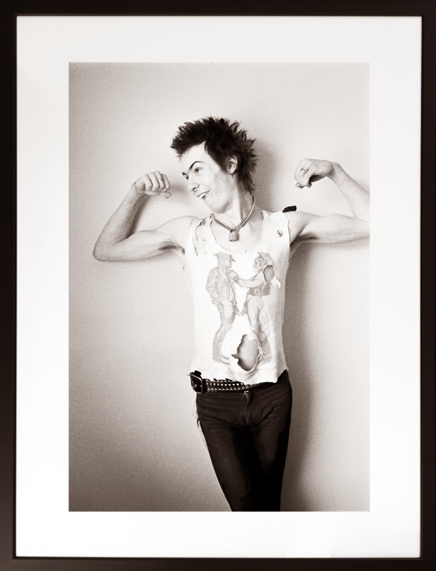 The Photography of Punk. Sid Vicious. Sweden. Dennis Morris