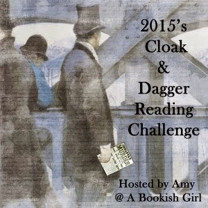 2015's Cloak and Dagger Reading Challenge