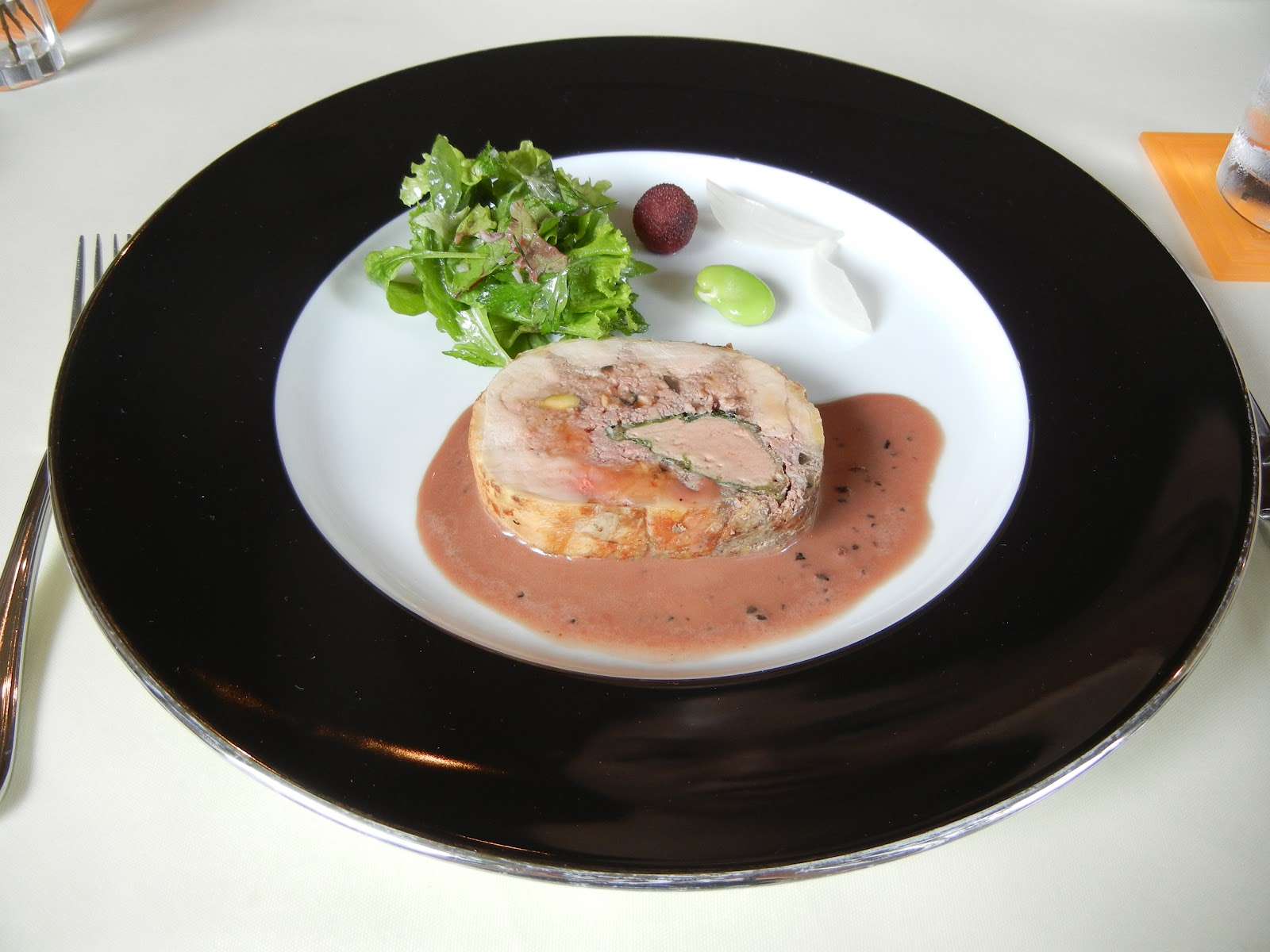 My eating life in tokyo a french restaurant protected by for Alif tree french cuisine