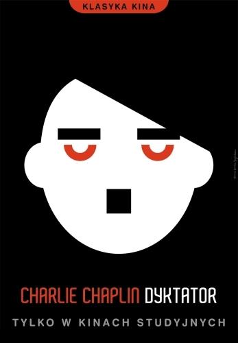 Veliki diktator Poljski plakat za film
