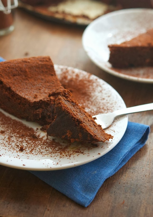 (Paleo) Flourless Chocolate Cake