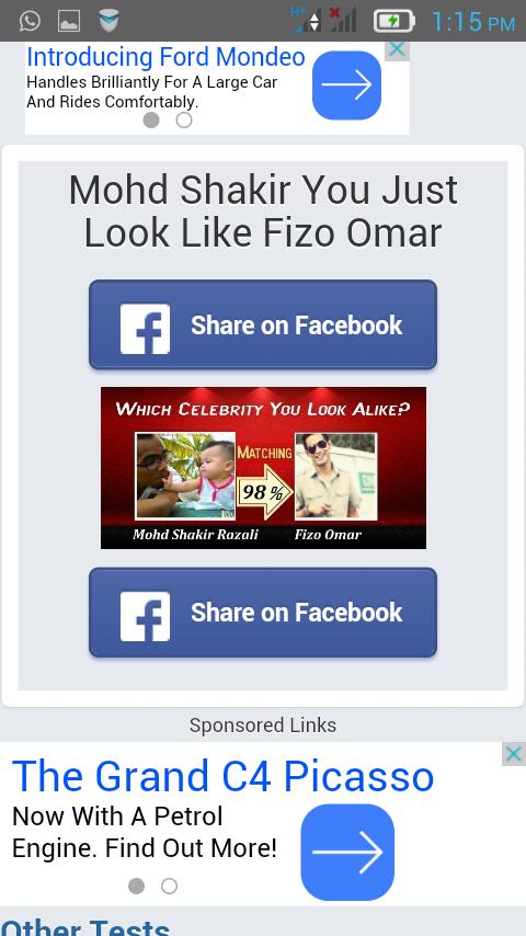 Muka iras Fizo Omar
