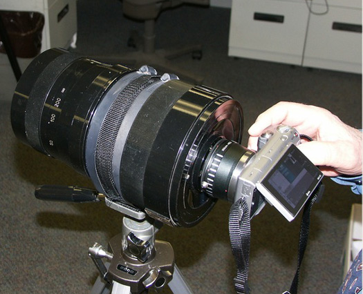 sony nex mto 1000mm mirror lens