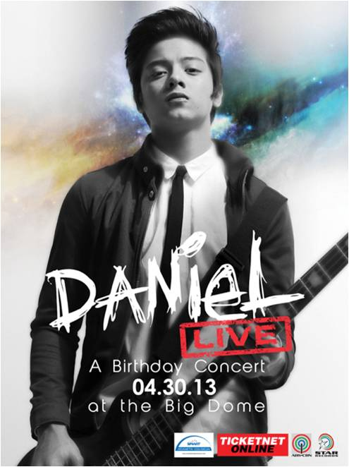 Daniel Padilla Birthday Concert at the Big Dome on April 30