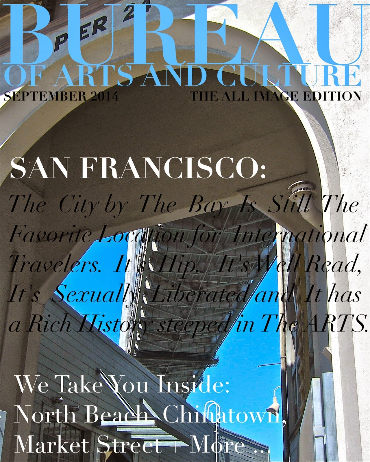BUREAU OF ARTS AND CULTURE SAN FRANCISCO SPRING 2015 BUREAU OF
